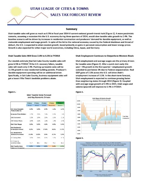 2014 Economic Update