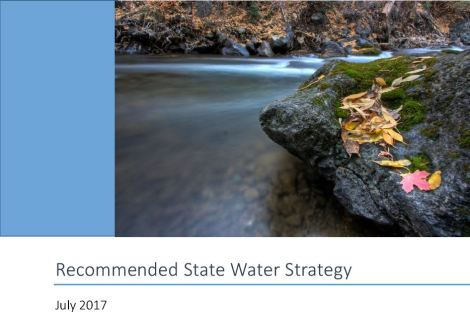 Recommended State Water Strategy - July 2017